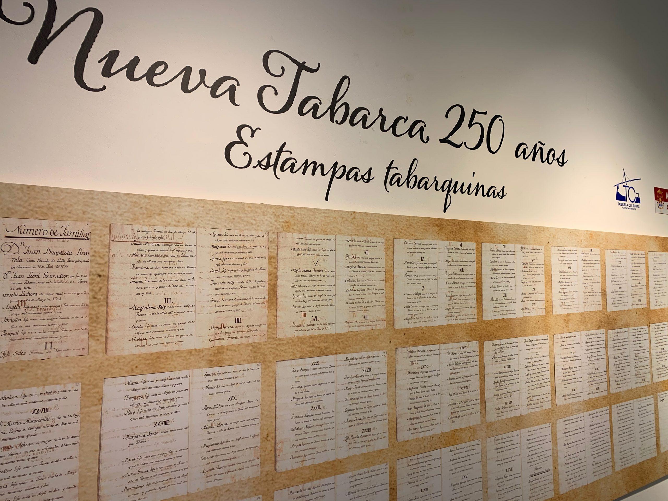 Exposición Tabarca 250 años