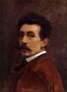autorretrato Joaquín Agrasot