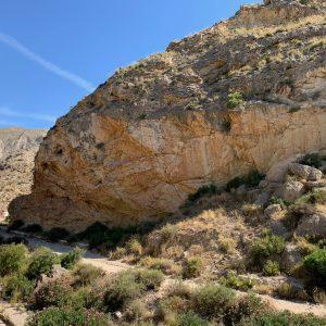 Sendero en la Sierra de Crevillent