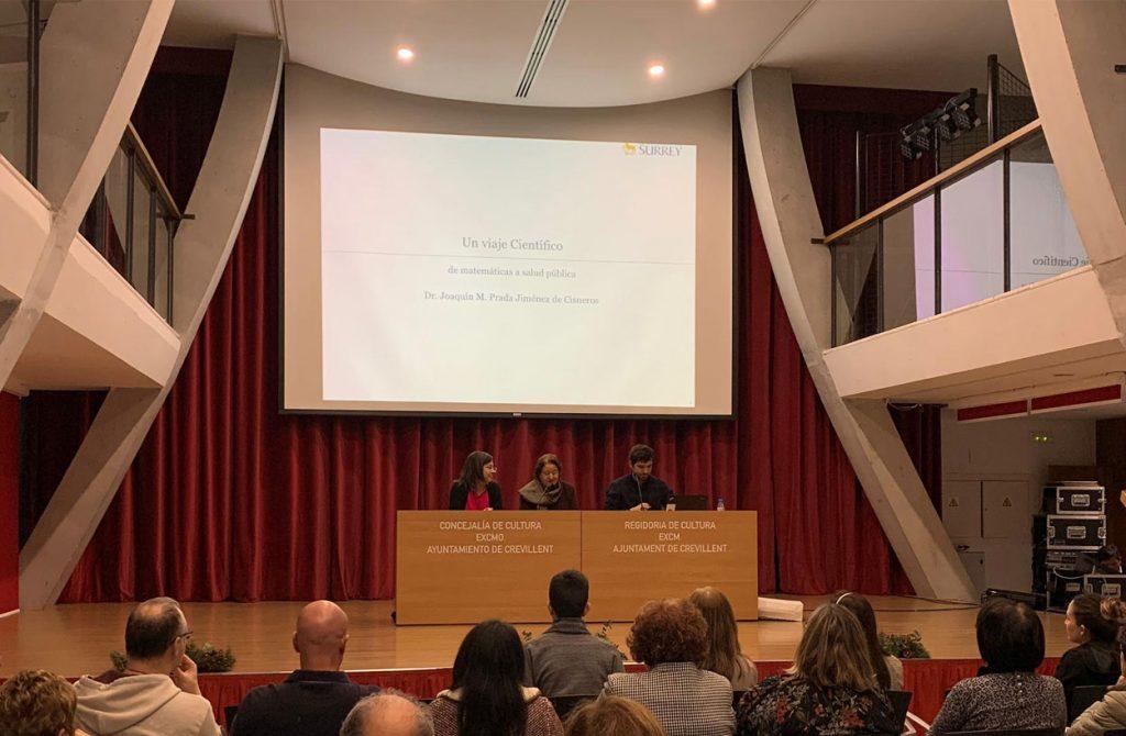 Conferencia de Joaquín Prada en Crevillent-dic 2019