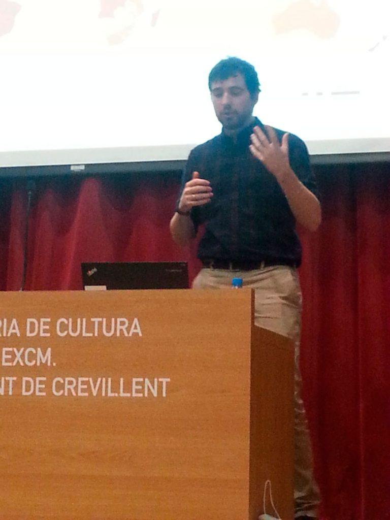 Joaquín Prada en Crevillent
