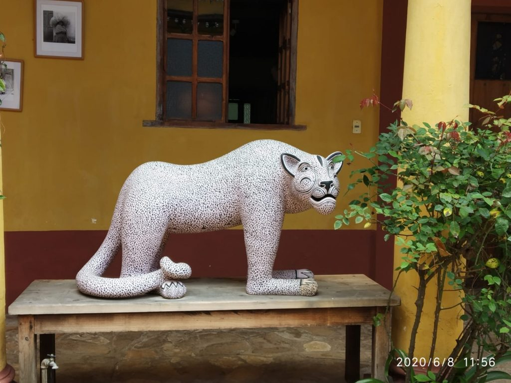 Na Bolom Jaguar. Arqueología