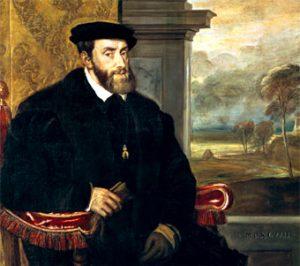 Carlos I de España y V Emperador de Alemania Retrato de Tiziano