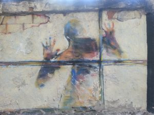 Grafiti callejero en Madrid