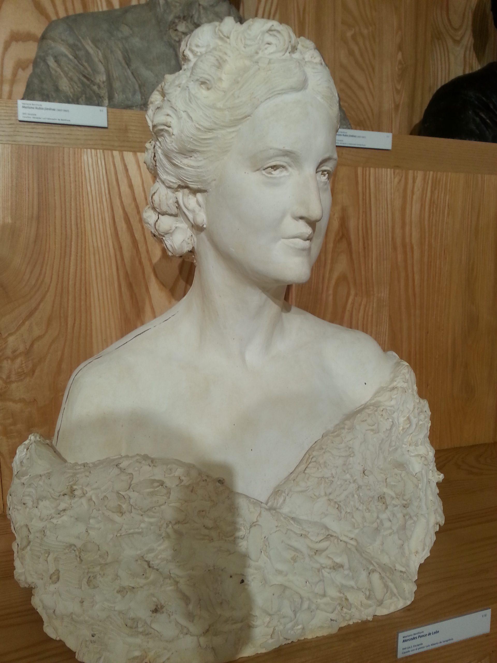 retrato de dama museo benlliure crevillent