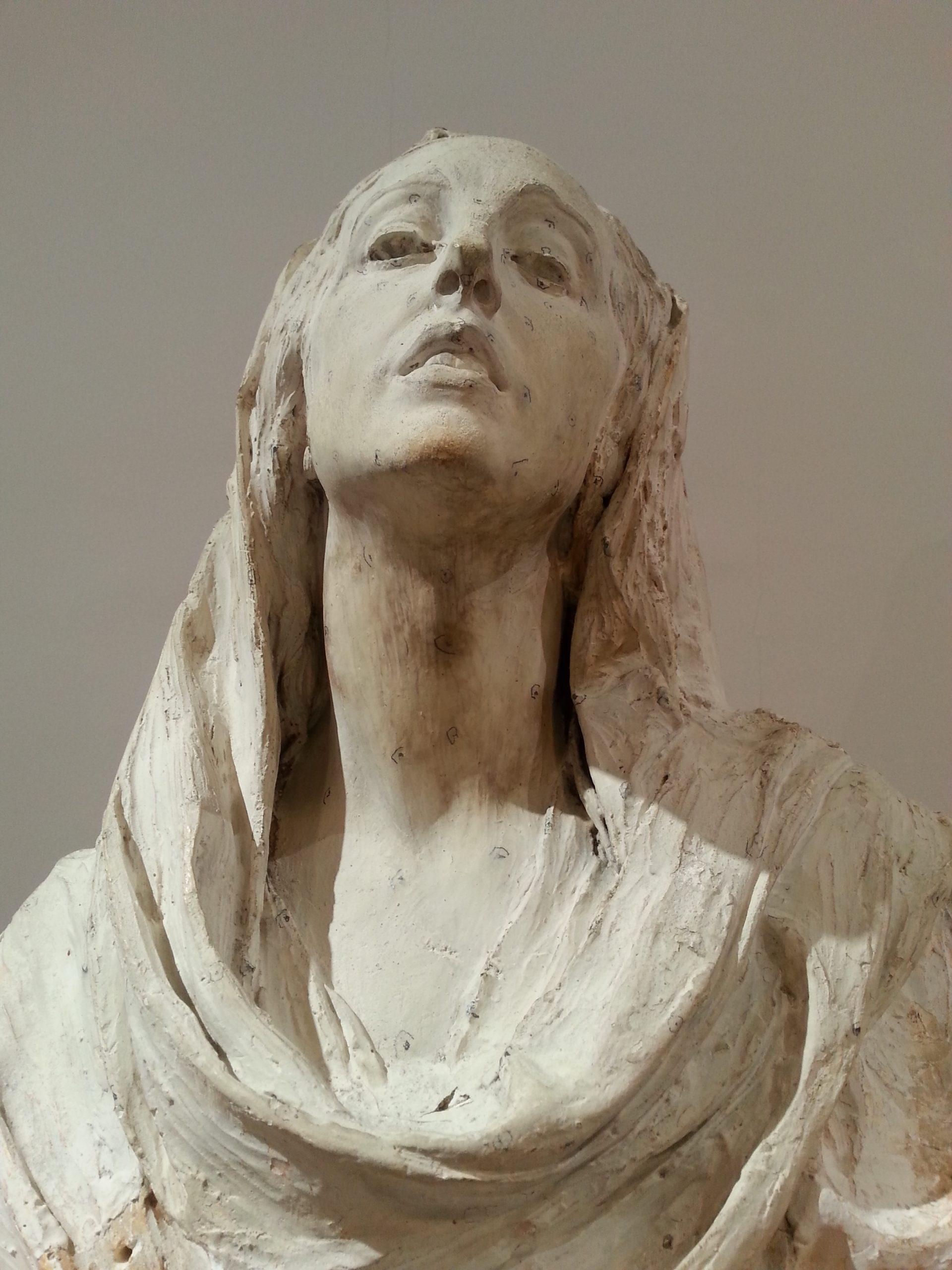 Boceto Dolorosa Museo Benlliure