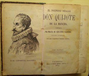 Quijote anotado de Manuel Olave Martínez