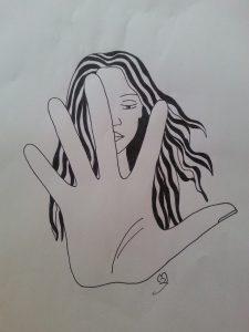 Ilustración mujer Matilde Zamorano