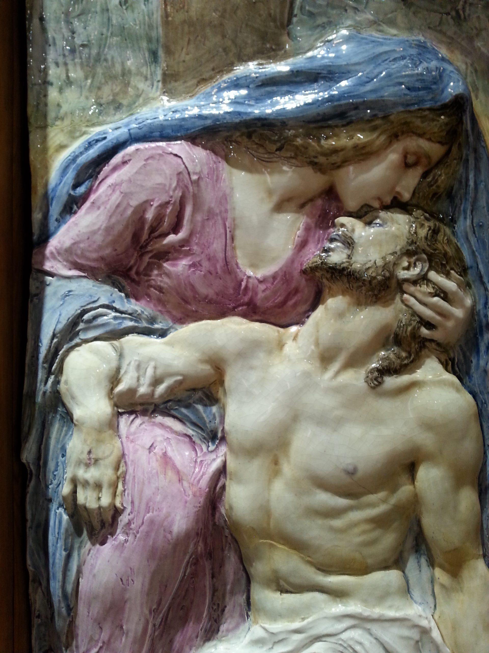 Virgen con Cristo en brazos museo benlliure