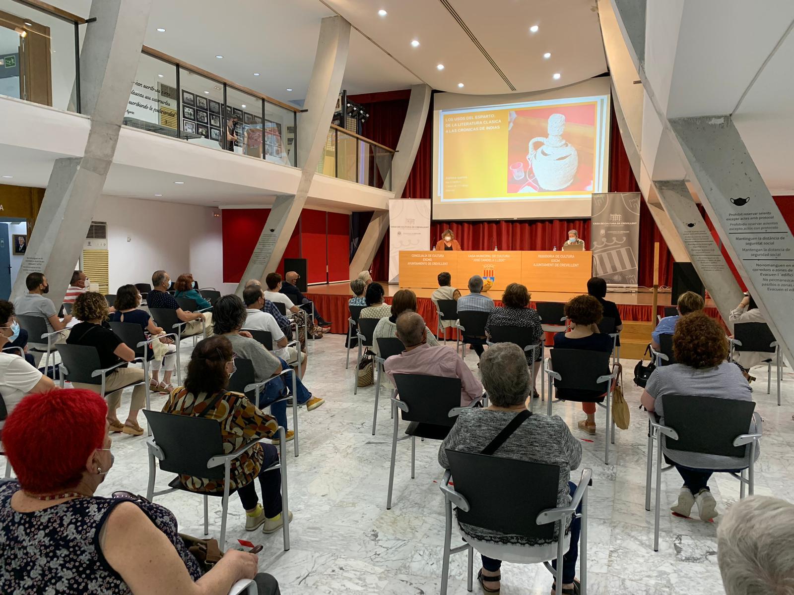 Conferencia sobre el esparto en la literatura. Crevillent, 7 de junio de 2021