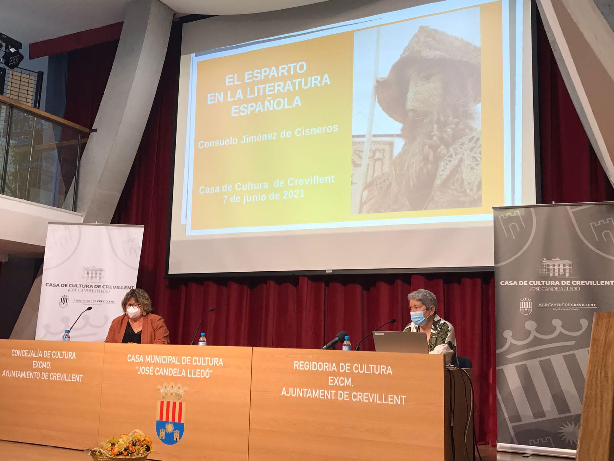 Conferencia sobre el esparto en Crevillent