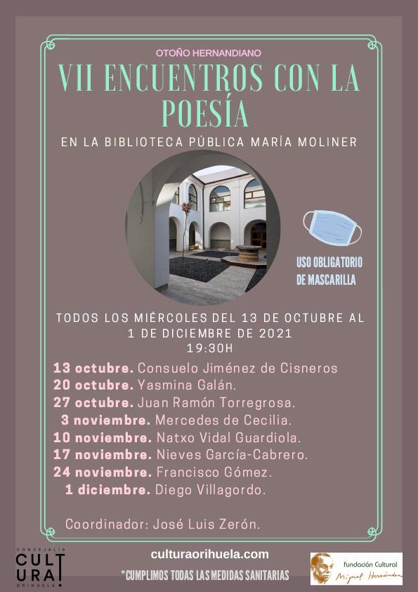Recital Consuelo Jiménez de Cisneros en Orihuela
