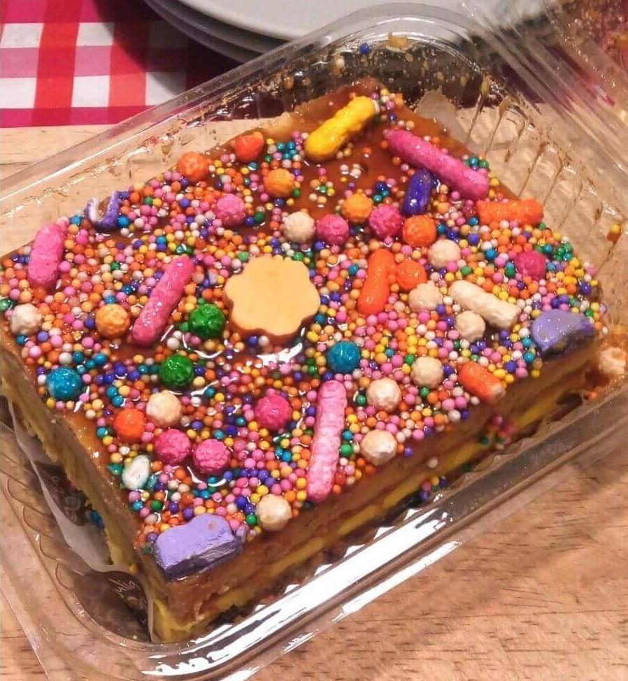 Fotografía de tarta de Doña Pepa (Perú)